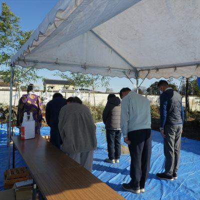 【栃木県宇都宮市】 新築住宅建築 地鎮祭が執り行われました。 - 八興ハウス - ブログ