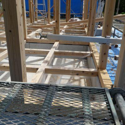 【栃木県宇都宮市】住宅新築工事の建て方です - 八興ハウス - ブログ