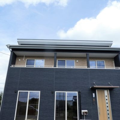 フォトギャラリー【栃木県宇都宮市】スペースを有効活用した2階建て